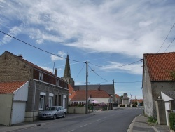 Photo paysage et monuments, Sainte-Marie-Kerque - le Village