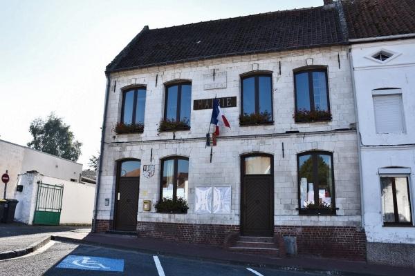 Photo Tournehem-sur-la-Hem - la Mairie