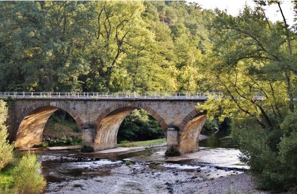 Pont sur L'Alagnon