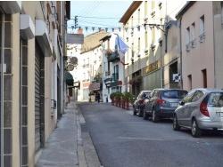 Photo paysage et monuments, Châtelguyon - Rue de la Ville