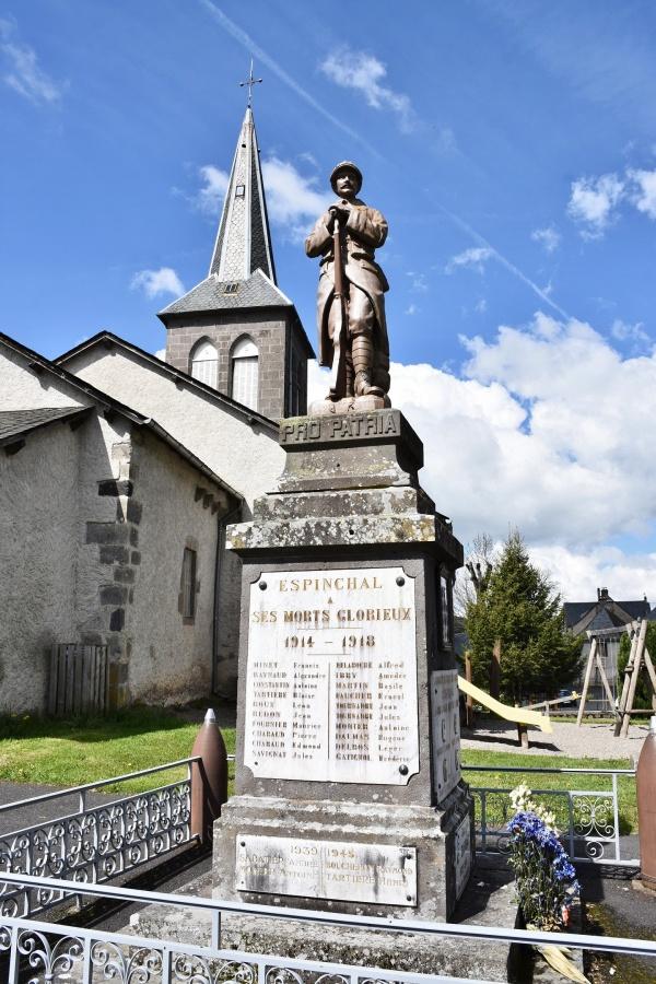 Photo Espinchal - le Monument Aux Morts