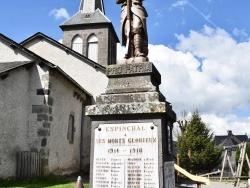Photo paysage et monuments, Espinchal - le Monument Aux Morts