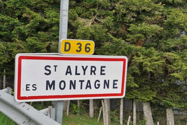 Photo Saint-Alyre-ès-Montagne - saint alyre es montagne (63420)