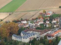 Photo paysage et monuments, Audaux - Le château d'Audaux et le village