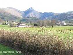 Photo paysage et monuments, Béhorléguy - vallée de lecumberry en hiver
