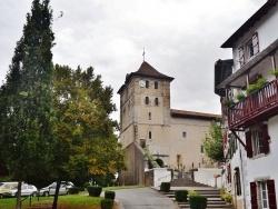 Photo paysage et monuments, Espelette - église St Etienne