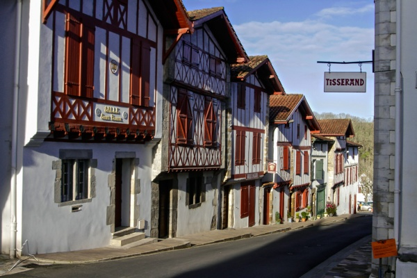 Photo La Bastide-Clairence - Maisons du Pays Basque