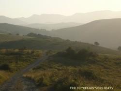Photo paysage et monuments, Larceveau-Arros-Cibits - vue d'irraty sur le retour du relais