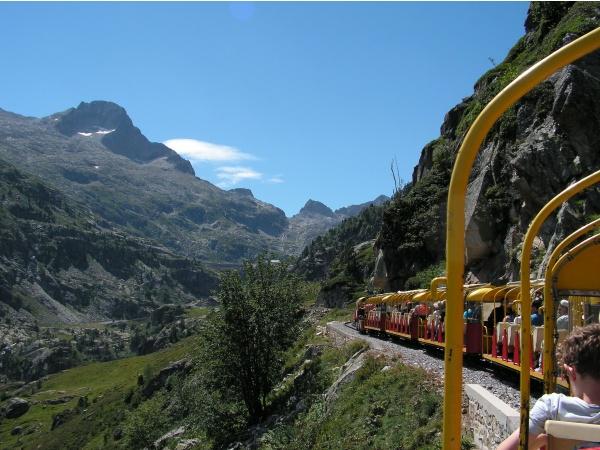 Photo Laruns - Le petit train d'Artouste .