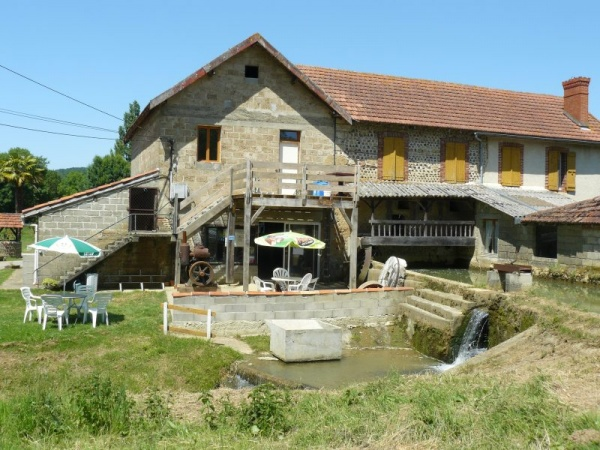Moulin à eau de Bellegarde 64350