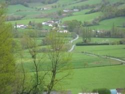 Photo paysage et monuments, Pagolle - arrivée par juxue