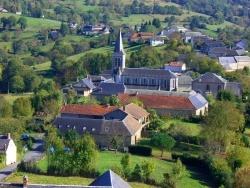 Photo paysage et monuments, Bagnères-de-Bigorre - Le village de Mauvezin, près de Bagnères-de-Bigorre