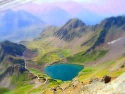 Photo paysage et monuments, Bagnères-de-Bigorre - Lac de montagne, près du Pic du Midi