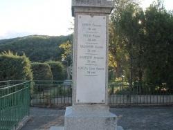 Photo paysage et monuments, Ansignan - Monuments Aux Morts