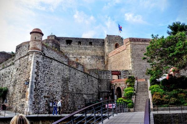 Collioure,château Royal.B;