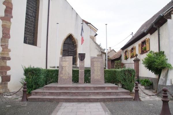 Photo Herrlisheim - le monument aux morts