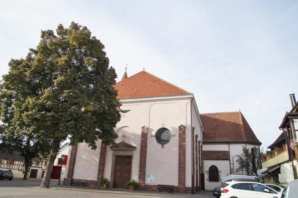 Photo Herrlisheim - église Saint Michel