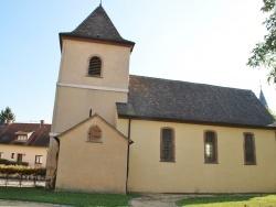 Photo paysage et monuments, Algolsheim - église Protestante