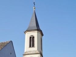 Photo paysage et monuments, Algolsheim - clocher st pierre st paul