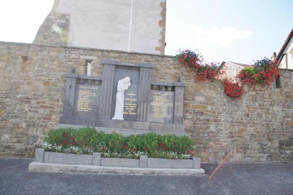 Photo Bruebach - le monument aux morts