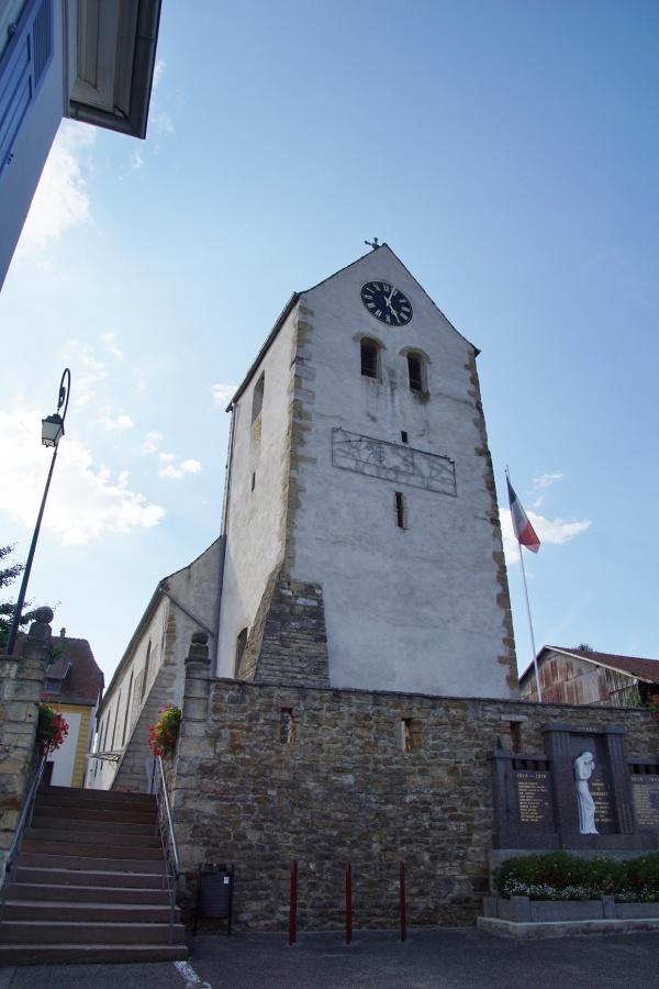 Photo Bruebach - église Saint Jacques
