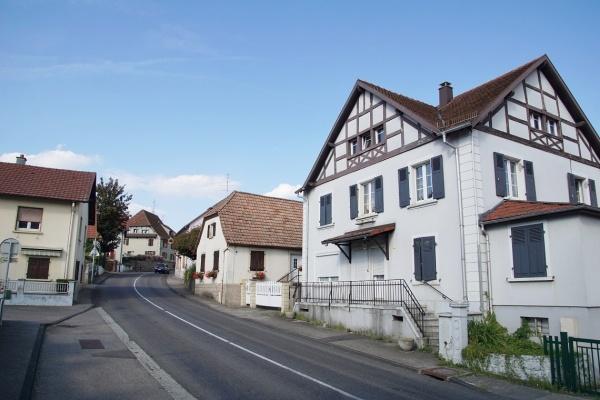Photo Bruebach - le village