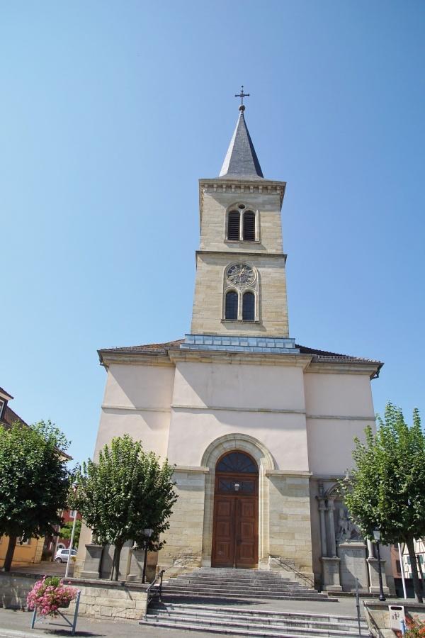Photo Carspach - église saint Georges