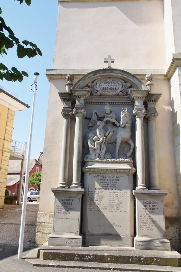 Photo Carspach - le monument aux morts