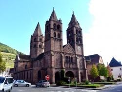 Eglise de Guebwiller.Octobre 2014.