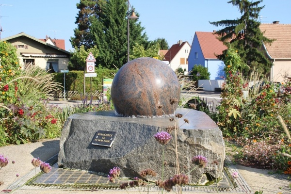 Photo Houssen - la fontaine