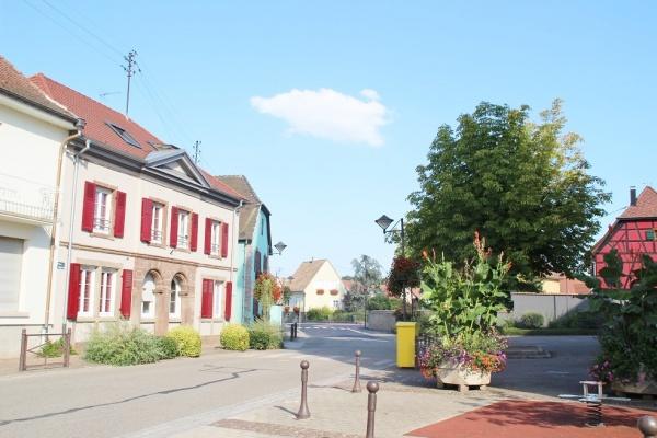 Photo Houssen - le village