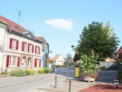 Houssen (68) - le village