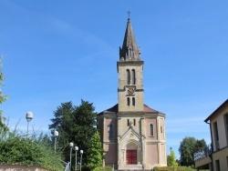 Photo paysage et monuments, Jettingen - église sacré Cœur