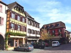 Photo paysage et monuments, Kaysersberg - Kaysersberg-Rue du Général de Gaulle.c.