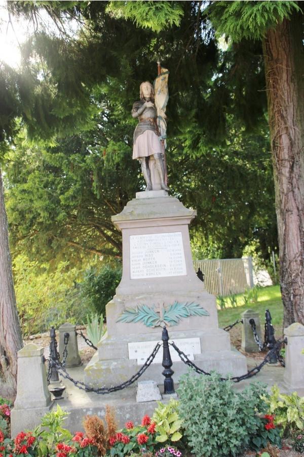 Photo Obermorschwiller - le monument aux morts