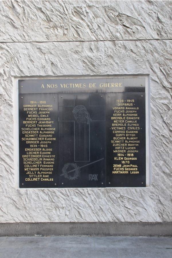 Photo Obersaasheim - le monument aux morts