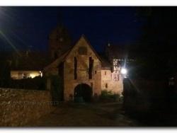 Photo paysage et monuments, Riquewihr - Errances nocturnes - PORTE HAUTE