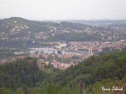 Photo paysage et monuments, Condrieu - la tour garon vue des hauteurs