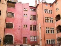 Photo paysage et monuments, Lyon - Façades hautes en couleurs