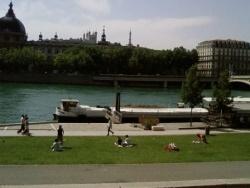 Photo paysage et monuments, Lyon - Quai du Rhône