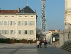 Photo paysage et monuments, Lyon - La tour métallique