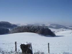 Photo paysage et monuments, Montromant - NEIGE