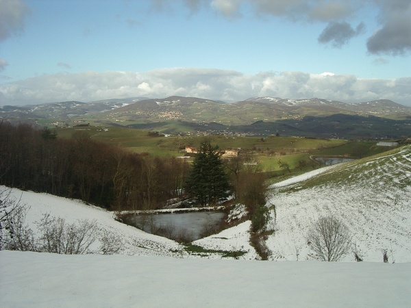 Photo Montromant - paysage