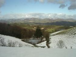 Photo paysage et monuments, Montromant - paysage