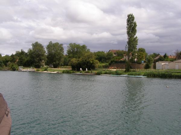 Photo Vaulx-en-Velin - le long du canal