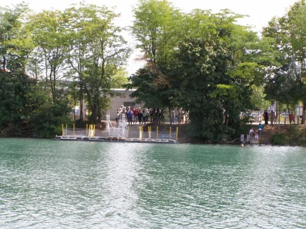 Photo Vaulx-en-Velin - lieu d'embarcation