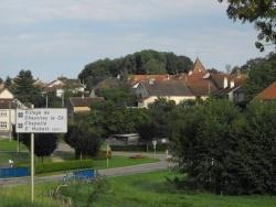 Photo paysage et monuments, Chauvirey-le-Châtel - L'entrée du village!