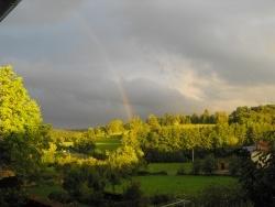 Photo paysage et monuments, Chauvirey-le-Châtel - Arc en ciel