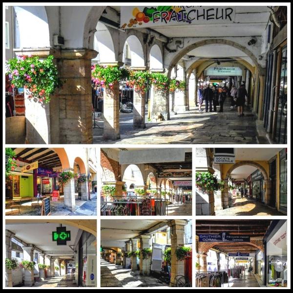 Photo Louhans - Louhans 71. Les arcades.