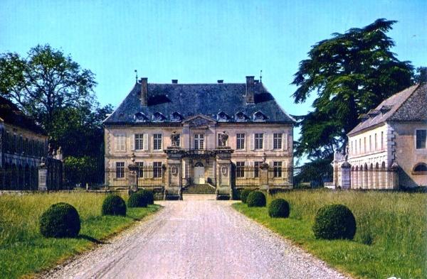 Photo Pierre-de-Bresse - chateau de terrans